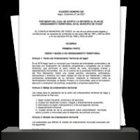 Plan de Ordenamiento Territorial Itagui